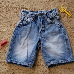 Boys Denim Shorts sz 6 slim